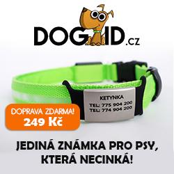 DOGID.cz Jediná známka pro psy, která necinká!250x250