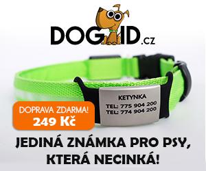 DOGID.cz Jediná známka pro psy, která necinká!300x250